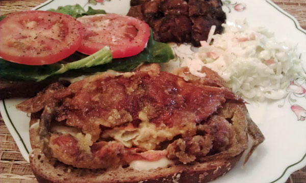 Sue's Soft Crab Sandwich