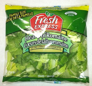 Recalled lettuce from Fresh Express