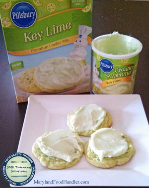 pillsbury key lime cookies